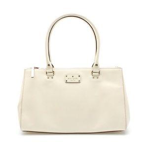 [Kate Spade] Martine Wellesley Cream Leather Bag